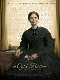 affiche sortie dvd emily dickinson, a quiet passion