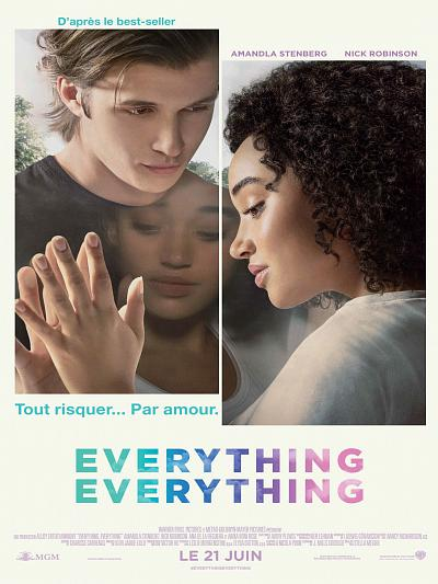 sortie vod, dvd Everything, Everything