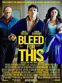 affiche sortie dvd k.o. - bleed for this