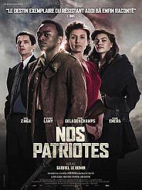 affiche sortie dvd nos patriotes