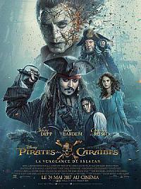 affiche sortie dvd pirates des caraibes - la vengeance de salazar