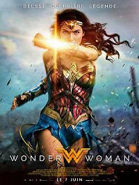 affiche sortie dvd wonder woman