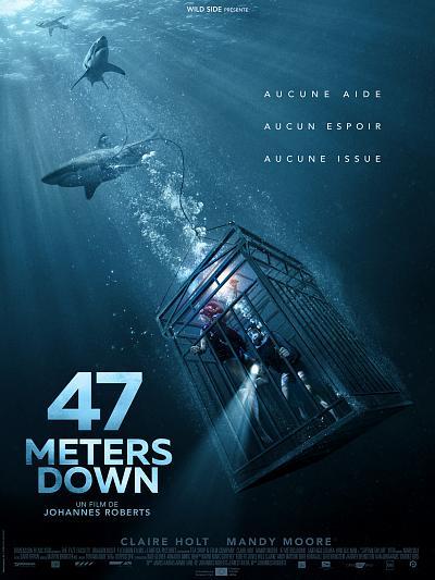 sortie vod, dvd et blu-ray 47 Meters Down