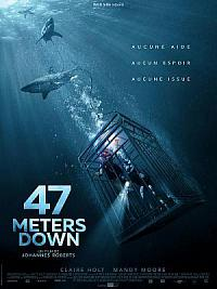 affiche sortie dvd 47 meters down
