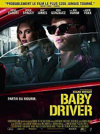 affiche sortie dvd baby driver