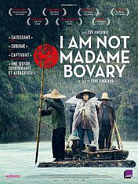 affiche sortie dvd i am not madame bovary