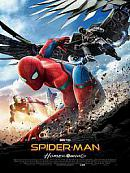 affiche sortie dvd spider-man - homecoming