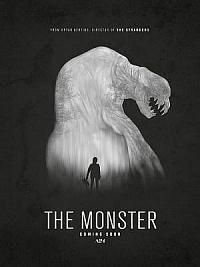 affiche sortie dvd the monster