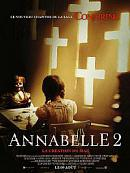 affiche sortie dvd annabelle 2 - la creation du mal