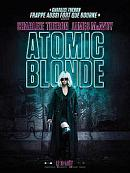 affiche sortie dvd Atomic Blonde