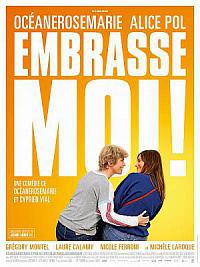 affiche sortie dvd embrasse-moi !