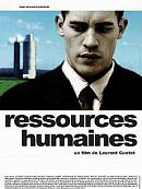 affiche sortie dvd Ressources humaines