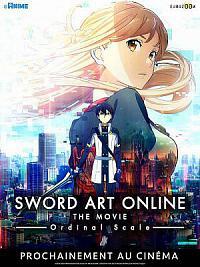 affiche sortie dvd sword art online movie