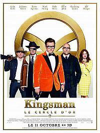 affiche sortie dvd kingsman 2 - le cercle d'or