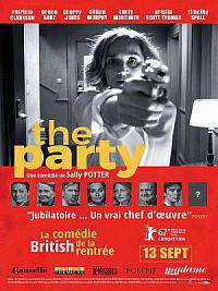 affiche sortie dvd the party