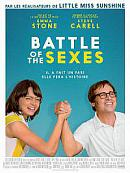 affiche sortie dvd Battle of the Sexes