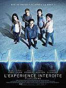 affiche sortie dvd l'experience interdite - flatliners