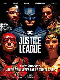 affiche sortie dvd justice league