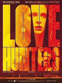 affiche sortie dvd love hunters