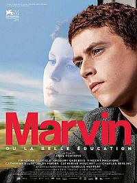 affiche sortie dvd marvin ou la belle education