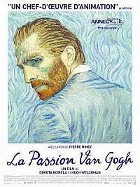 affiche sortie dvd la passion van gogh
