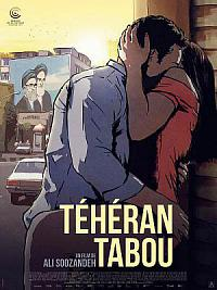affiche sortie dvd teheran tabou