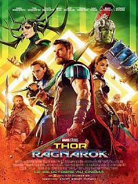affiche sortie dvd thor 3 - ragnarok