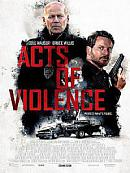 affiche sortie dvd acts of violence