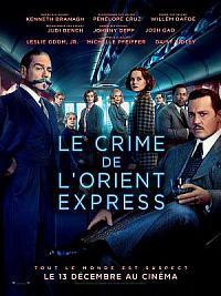 affiche sortie dvd le crime de l'orient-express