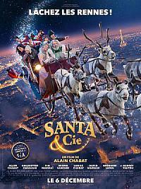 affiche sortie dvd santa & cie