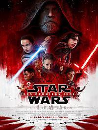 affiche sortie dvd star wars - les derniers jedi