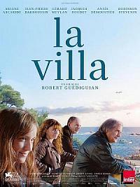 affiche sortie dvd la villa