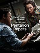 affiche sortie dvd Pentagon Papers
