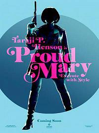 affiche sortie dvd Proud Mary