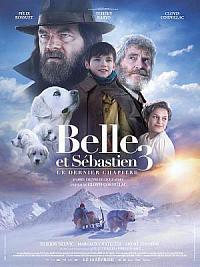 affiche sortie dvd belle et sebastien 3 - le dernier chapitre