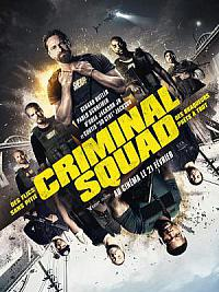 affiche sortie dvd criminal squad