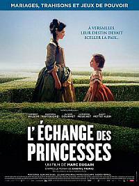 affiche sortie dvd l'echange des princesses