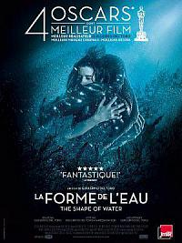 affiche sortie dvd la forme de l'eau - the shape of water