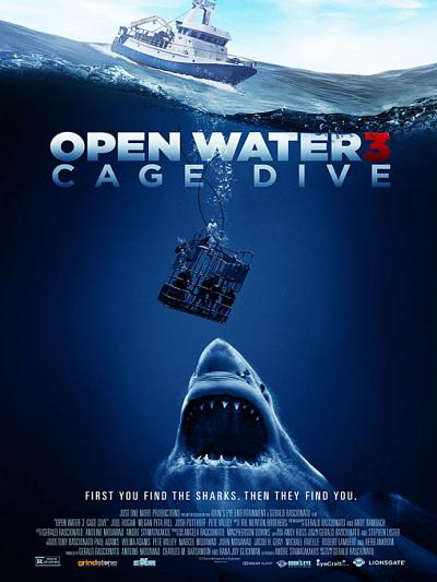 sortie vod, dvd et blu-ray Open Water 3 - Cage Dive