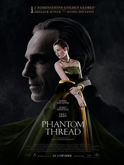 sortie vod, dvd et blu-ray Phantom Thread