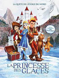 affiche sortie dvd la reine des neiges 3 - la princesse des glaces