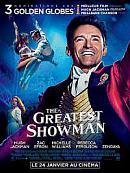 affiche sortie dvd The Greatest Showman