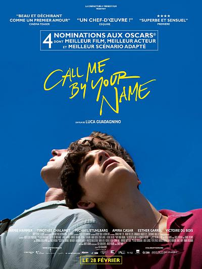 sortie vod, dvd et blu-ray Call Me By Your Name