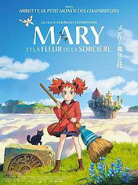 affiche sortie dvd mary et la fleur de la sorciere