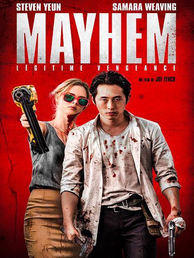 sortie vod, dvd et blu-ray Mayhem - Légitime Vengeance