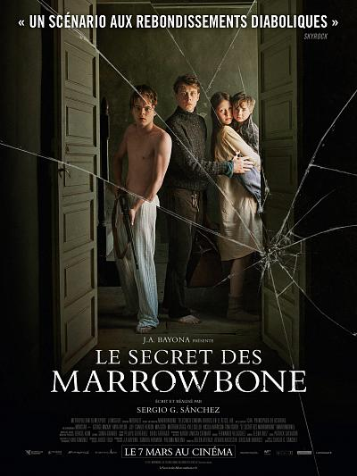 sortie vod, dvd et blu-ray Le Secret des Marrowbone