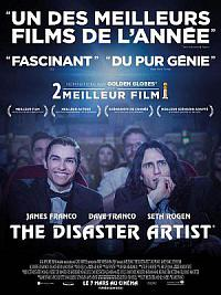 affiche sortie dvd the disaster artist
