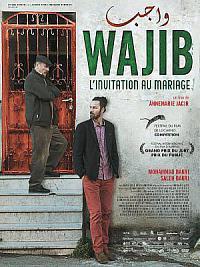 affiche sortie dvd wajib - l'invitation au mariage