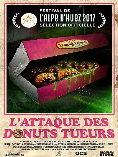 sortie vod, dvd L'Attaque des donuts tueurs