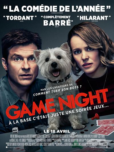 sortie vod, dvd et blu-ray Game Night
